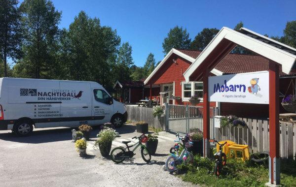 Renovering av Vågsetra barnehage